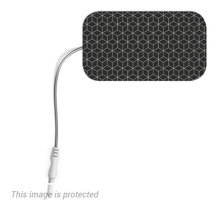 Electrodos rectangulares compatibles Compex Cefar
