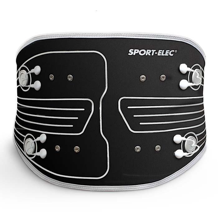 Cinturón para electroestimulacion abdominal maxibelt snaps 3,5 mm