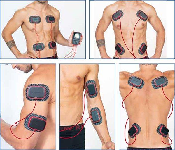 electrodos para electroestimuladores