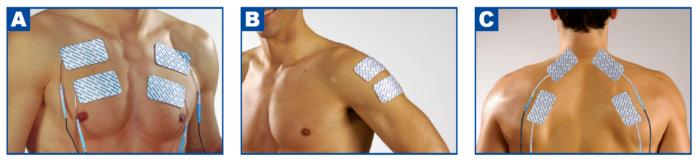 Multispor Pro Precision Sport-elec Colocación de los electrodos