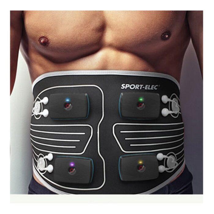 Free action inalambrico 4 motores 4 canales 14 programas 255 variaciones de programas + Cinturon abdominal maxibelt snaps 3,5 mm