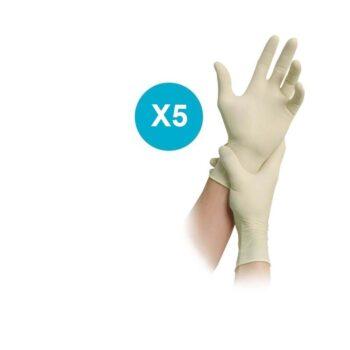 Guantes de Cirugia Esteril MaiMed -Tex Nº 7,5
