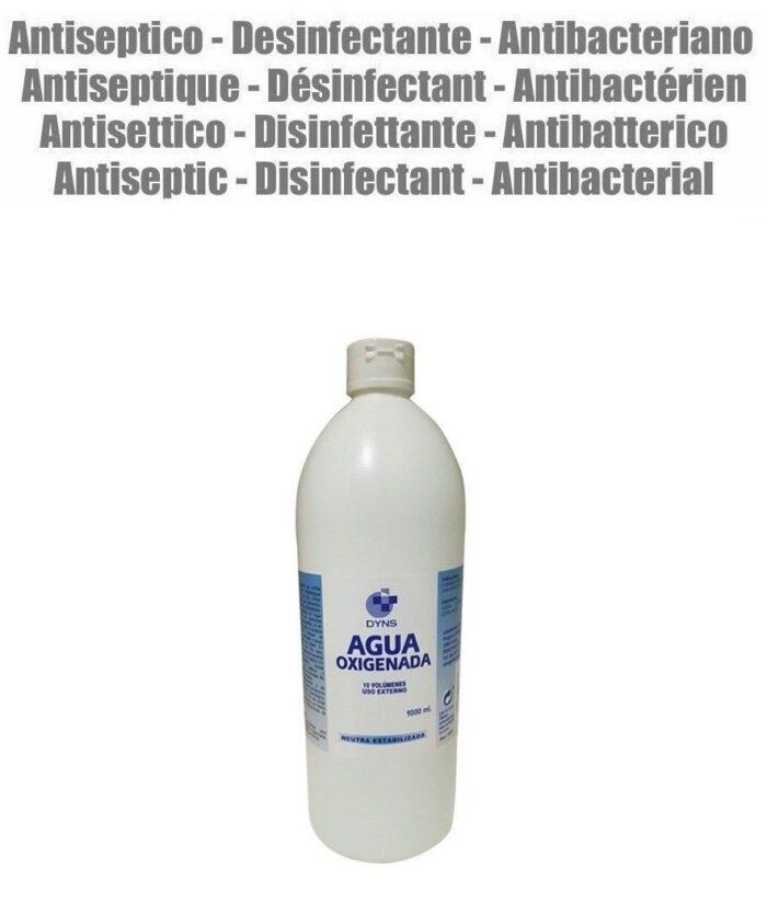 1 litro agua-oxigenada-3% - 10-volumenes marca Dyns