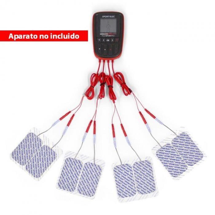 4 CABLES USB MULTISPORTPRO FILAIRE CONEXIONES