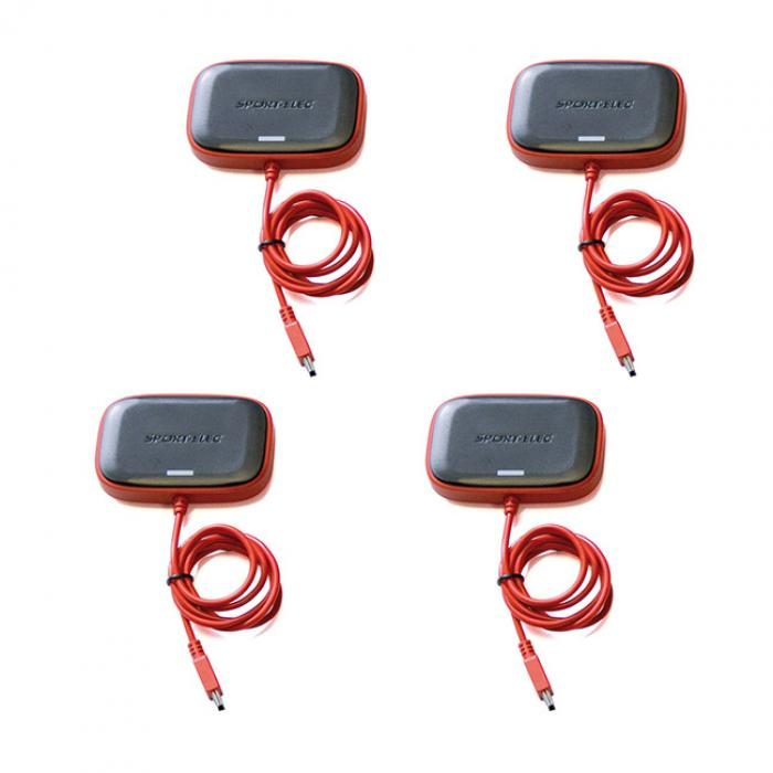 4 módulos de sustitución para el électroestimulador MultisportPro