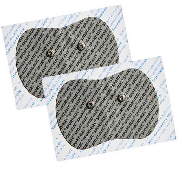 2 ELECTRODOS ADHESIVOS 130 X 90 mm PARA ELECTROESTIMULADOR MUSCULAR FARMADOLOR SPORT-ELEC