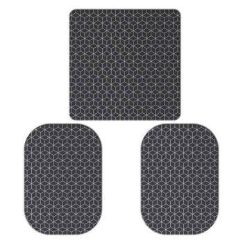 3 ELECTRODOS ADHESIVOS 1: de (100 X 100 mm) + 2 de (110 X 70 mm) COMPATIBLES SLENDERTONE